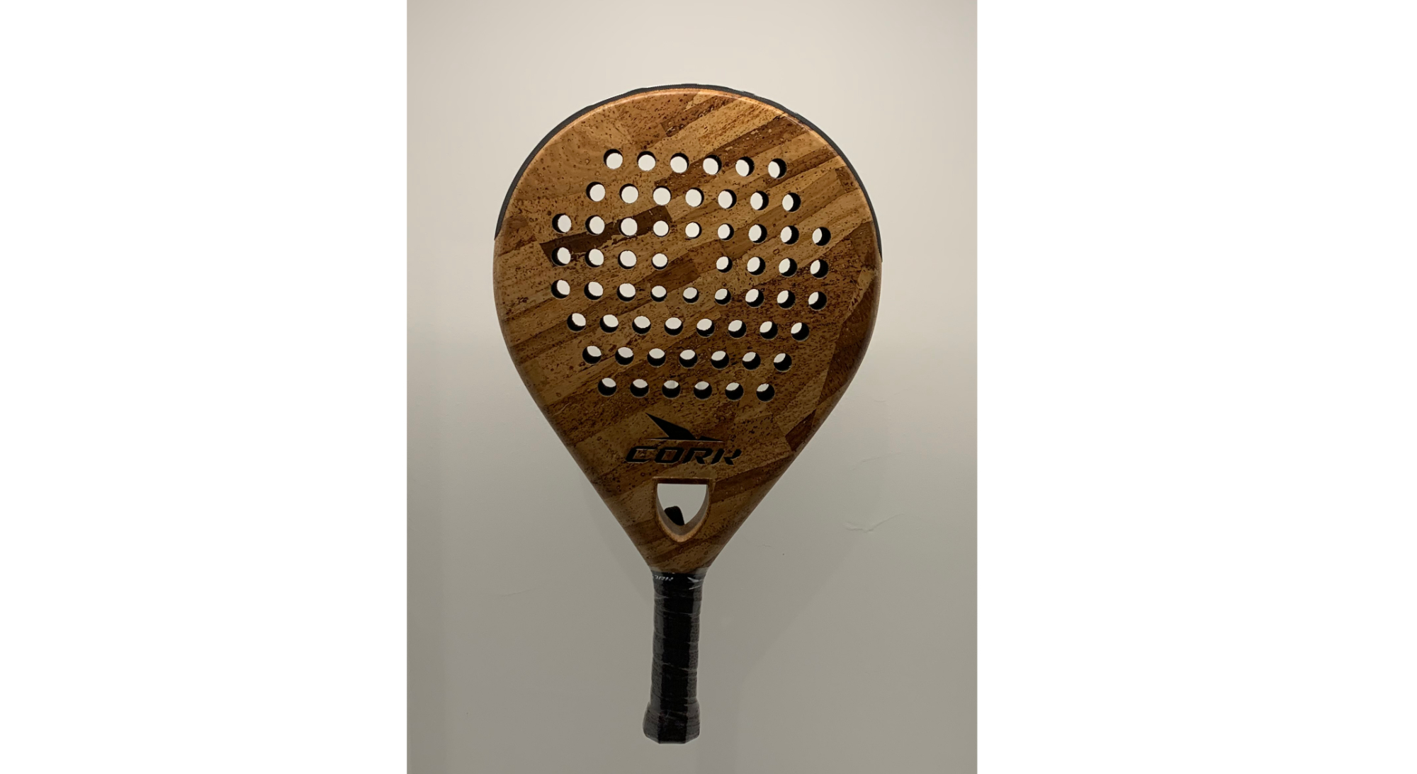 A bat made for playing the relatively new game of padel