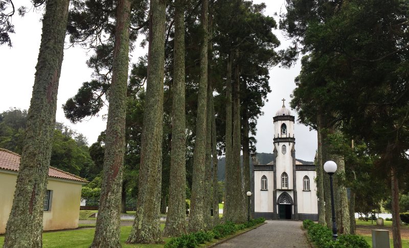 Church of St Nicholas in the hamlet of Sete Cidades