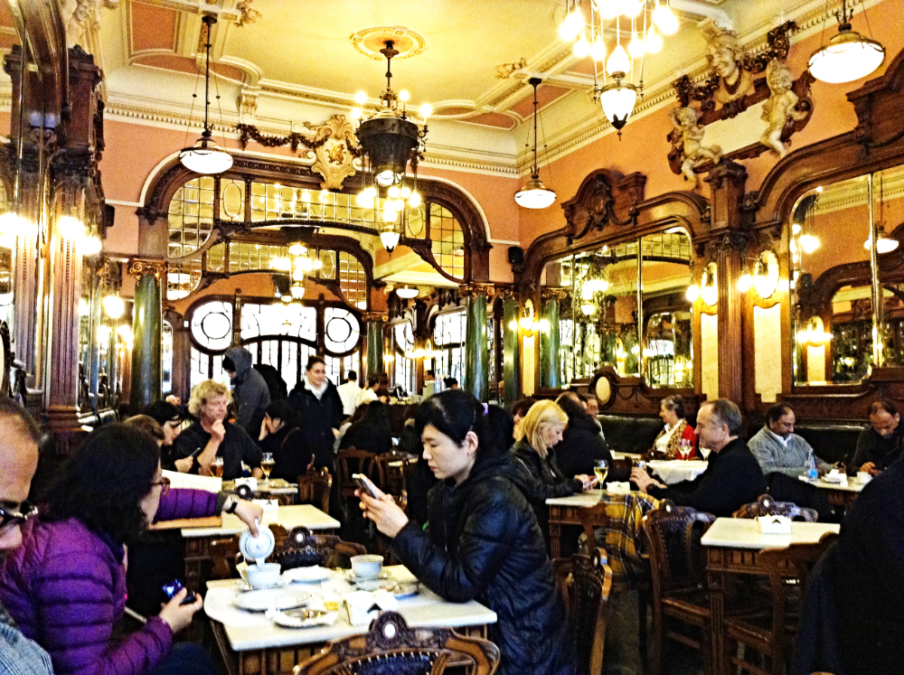 The interior of the Majestic Cafe