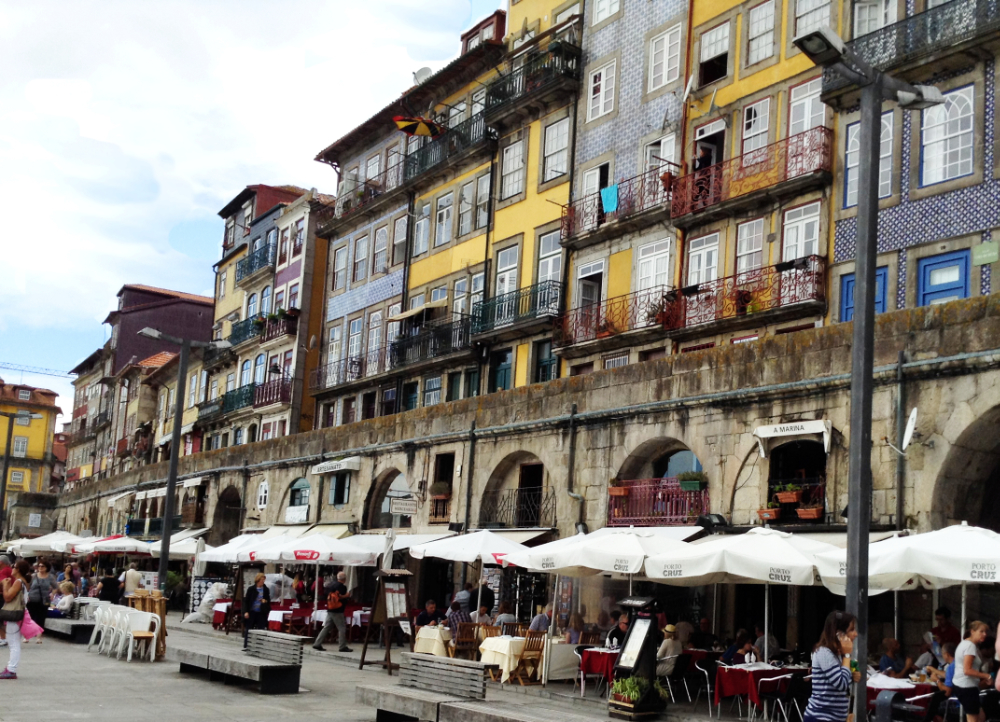 The Ribeira waterfront