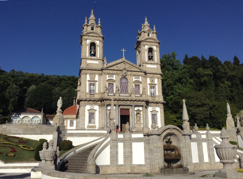 The sanctuary of Bom Jesus just outside Braga