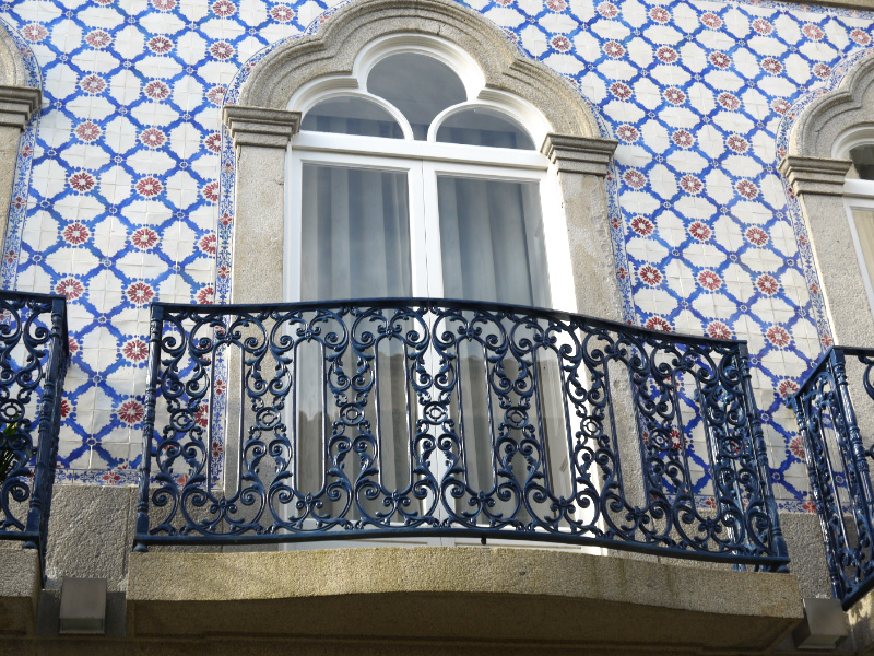 Tiled house in Viana do Castelo