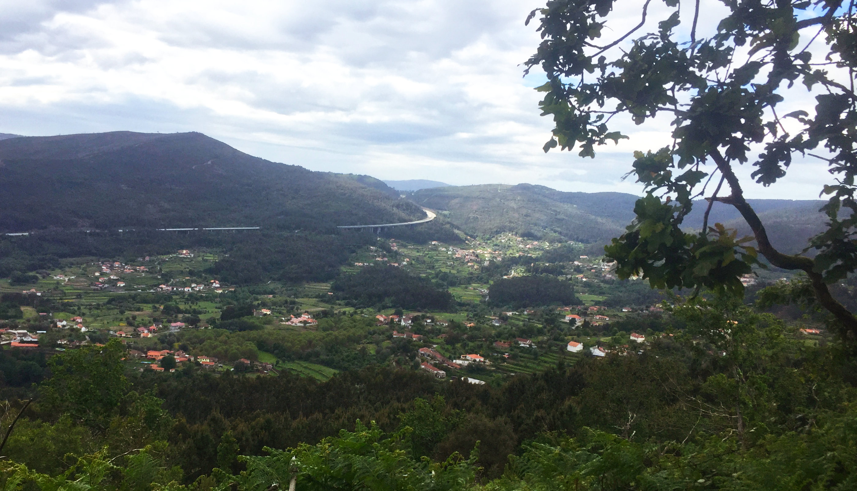 The view to the west from the Run do Alto do Cavalo
